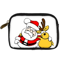 Christmas Santa Claus Digital Camera Cases by Sapixe