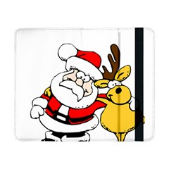 Christmas Santa Claus Samsung Galaxy Tab Pro 8 4  Flip Case by Sapixe