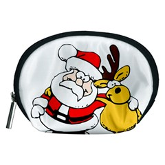 Christmas Santa Claus Accessory Pouches (medium)  by Sapixe