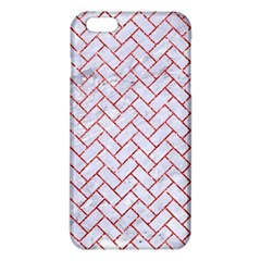 Brick2 White Marble & Red Glitter (r) Iphone 6 Plus/6s Plus Tpu Case by trendistuff