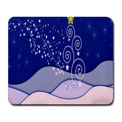 Christmas Tree Large Mousepads by Sapixe