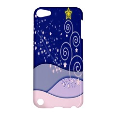 Christmas Tree Apple Ipod Touch 5 Hardshell Case by Sapixe