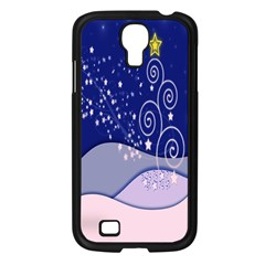 Christmas Tree Samsung Galaxy S4 I9500/ I9505 Case (black) by Sapixe