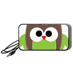 Clip Art Animals Owl Portable Speaker
