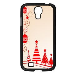 Christmas Clipart Wallpaper Samsung Galaxy S4 I9500/ I9505 Case (black)