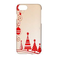 Christmas Clipart Wallpaper Apple Iphone 8 Hardshell Case by Sapixe