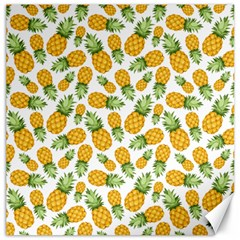 Pineapple Pattern Canvas 20  X 20   by goljakoff