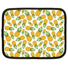 Pineapple Pattern Netbook Case (large) by goljakoff