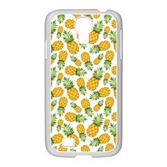 Pineapple Pattern Samsung Galaxy S4 I9500/ I9505 Case (white) by goljakoff