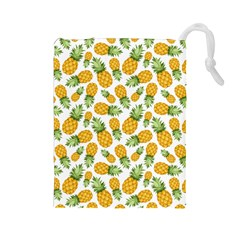 Pineapple Pattern Drawstring Pouches (large)