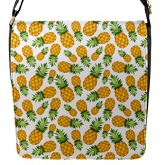 Pineapple Pattern Flap Messenger Bag (s) by goljakoff