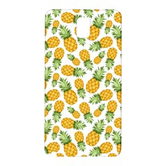 Pineapple Pattern Samsung Galaxy Note 3 N9005 Hardshell Back Case by goljakoff