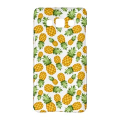 Pineapple Pattern Samsung Galaxy A5 Hardshell Case  by goljakoff
