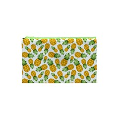 Pineapple Pattern Cosmetic Bag (xs) by goljakoff