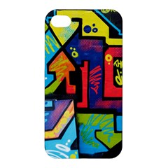 Urban Graffiti Movie Theme Produto Colorful Abstract Arrows Apple Iphone 4/4s Hardshell Case by MAGA