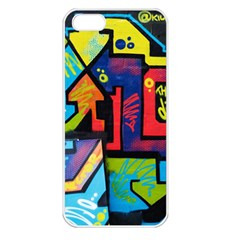 Urban Graffiti Movie Theme Produto Colorful Abstract Arrows Apple Iphone 5 Seamless Case (white)