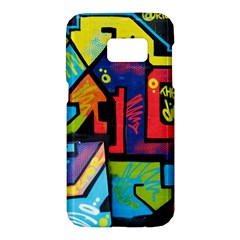 Urban Graffiti Movie Theme Produto Colorful Abstract Arrows Samsung Galaxy S7 Hardshell Case