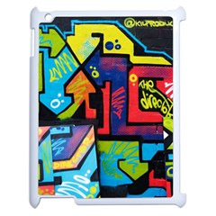 Urban Graffiti Movie Theme Productor Colorful Abstract Arrows Apple Ipad 2 Case (white)