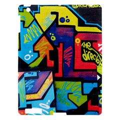 Urban Graffiti Movie Theme Productor Colorful Abstract Arrows Apple Ipad 3/4 Hardshell Case by MAGA