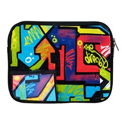 Urban Graffiti Movie Theme Productor Colorful Abstract Arrows Apple Ipad 2/3/4 Zipper Cases