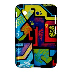 Urban Graffiti Movie Theme Productor Colorful Abstract Arrows Samsung Galaxy Tab 2 (7 ) P3100 Hardshell Case  by MAGA