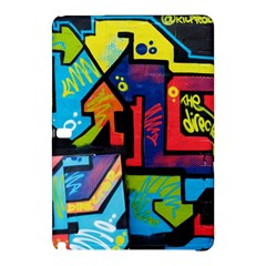 Urban Graffiti Movie Theme Productor Colorful Abstract Arrows Samsung Galaxy Tab Pro 10 1 Hardshell Case