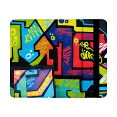 Urban Graffiti Movie Theme Productor Colorful Abstract Arrows Samsung Galaxy Tab Pro 8 4  Flip Case by MAGA