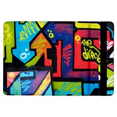 Urban Graffiti Movie Theme Productor Colorful Abstract Arrows Ipad Air Flip by MAGA