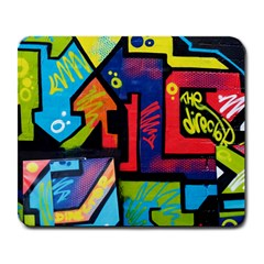 Urban Graffiti Movie Theme Productor Colorful Abstract Arrows Large Mousepads by MAGA
