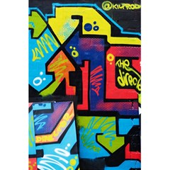Urban Graffiti Movie Theme Productor Colorful Abstract Arrows 5 5  X 8 5  Notebooks by MAGA