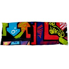 Urban Graffiti Movie Theme Productor Colorful Abstract Arrows Body Pillow Case Dakimakura (two Sides)