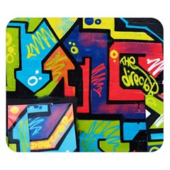 Urban Graffiti Movie Theme Productor Colorful Abstract Arrows Double Sided Flano Blanket (small)  by MAGA