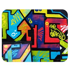 Urban Graffiti Movie Theme Productor Colorful Abstract Arrows Double Sided Flano Blanket (medium)  by MAGA