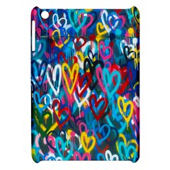 Graffiti Hearts Street Art Spray Paint Rad  Apple Ipad Mini Hardshell Case by MAGA