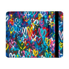 Graffiti Hearts Street Art Spray Paint Rad  Samsung Galaxy Tab Pro 8 4  Flip Case by MAGA