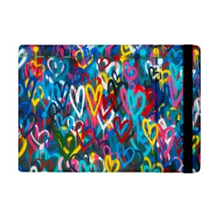 Graffiti Hearts Street Art Spray Paint Rad  Ipad Mini 2 Flip Cases by MAGA