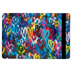 Graffiti Hearts Street Art Spray Paint Rad  Ipad Air Flip by MAGA