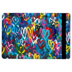 Graffiti Hearts Street Art Spray Paint Rad  Ipad Air 2 Flip by MAGA