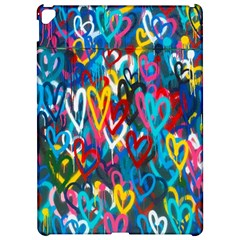 Graffiti Hearts Street Art Spray Paint Rad  Apple Ipad Pro 12 9   Hardshell Case by MAGA