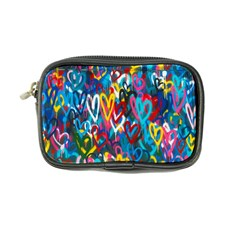 Graffiti Hearts Street Art Spray Paint Rad Coin Purse