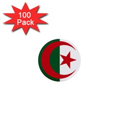 Roundel Of Algeria Air Force 1  Mini Buttons (100 Pack)  by abbeyz71