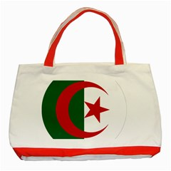 Roundel Of Algeria Air Force Classic Tote Bag (red) by abbeyz71