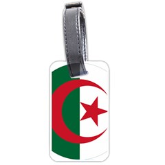 Roundel Of Algeria Air Force Luggage Tags (one Side)  by abbeyz71