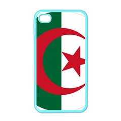 Roundel Of Algeria Air Force Apple Iphone 4 Case (color) by abbeyz71
