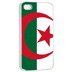 Roundel Of Algeria Air Force Apple Iphone 4/4s Seamless Case (white) by abbeyz71