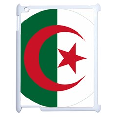 Roundel Of Algeria Air Force Apple Ipad 2 Case (white) by abbeyz71