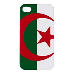 Roundel Of Algeria Air Force Apple Iphone 4/4s Premium Hardshell Case by abbeyz71