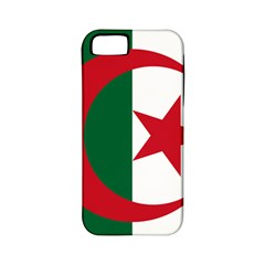 Roundel Of Algeria Air Force Apple Iphone 5 Classic Hardshell Case (pc+silicone) by abbeyz71