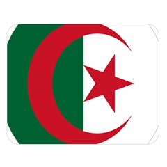 Roundel Of Algeria Air Force Double Sided Flano Blanket (large)  by abbeyz71