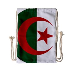 Roundel Of Algeria Air Force Drawstring Bag (small) by abbeyz71